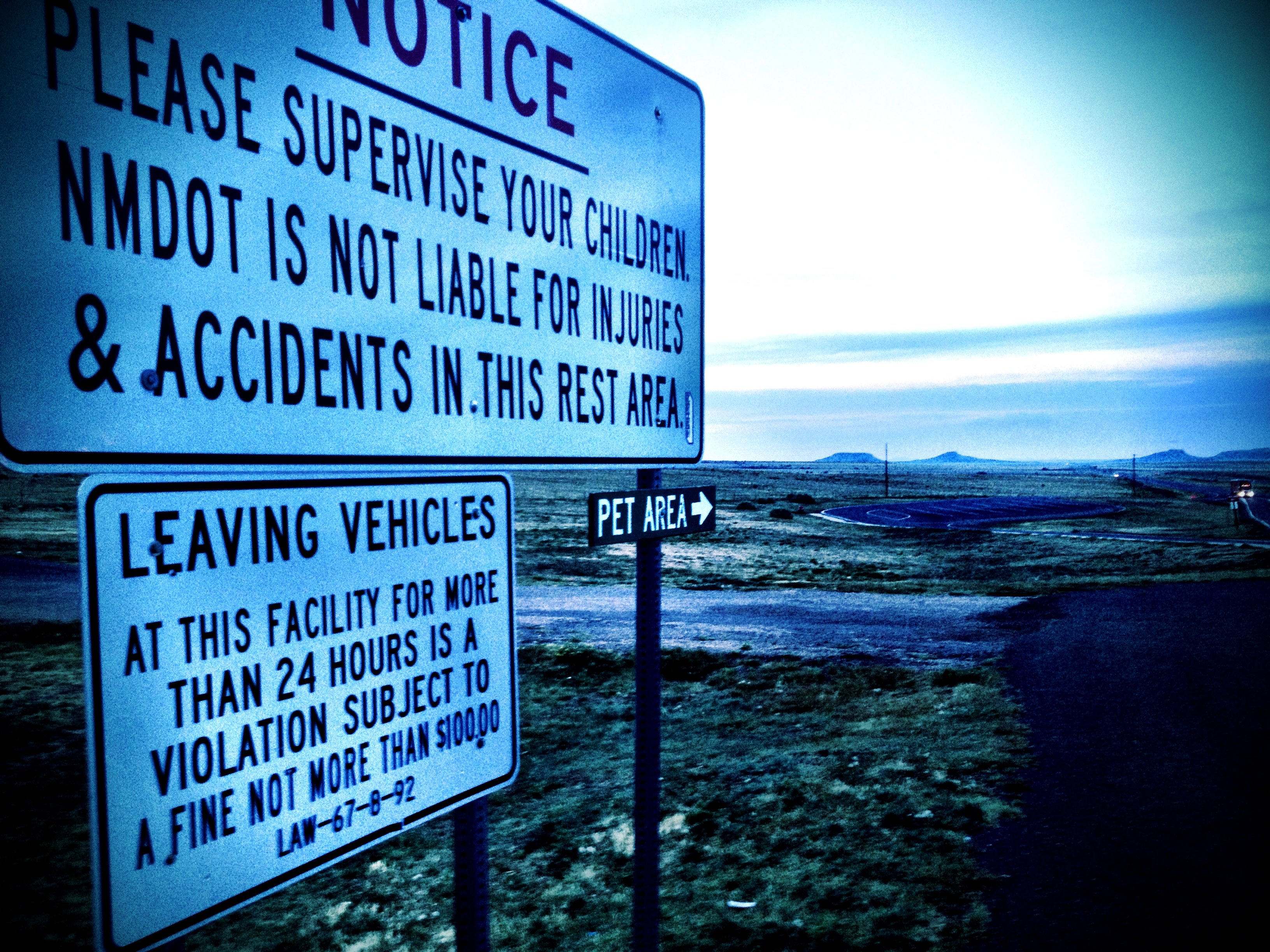 Road Trip signs