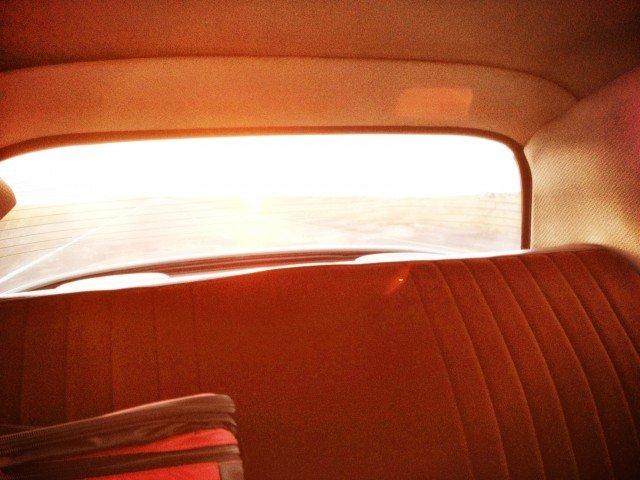 Road Trip Desert DS Sunset.