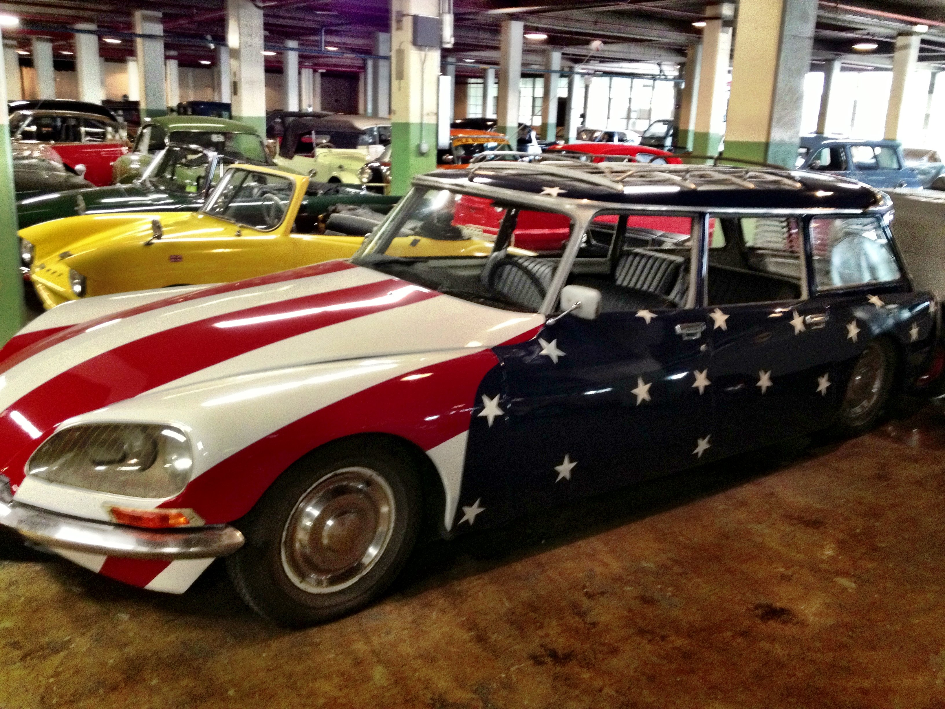 stylish all american citroen ds break at the lane museum. Black Bedroom Furniture Sets. Home Design Ideas