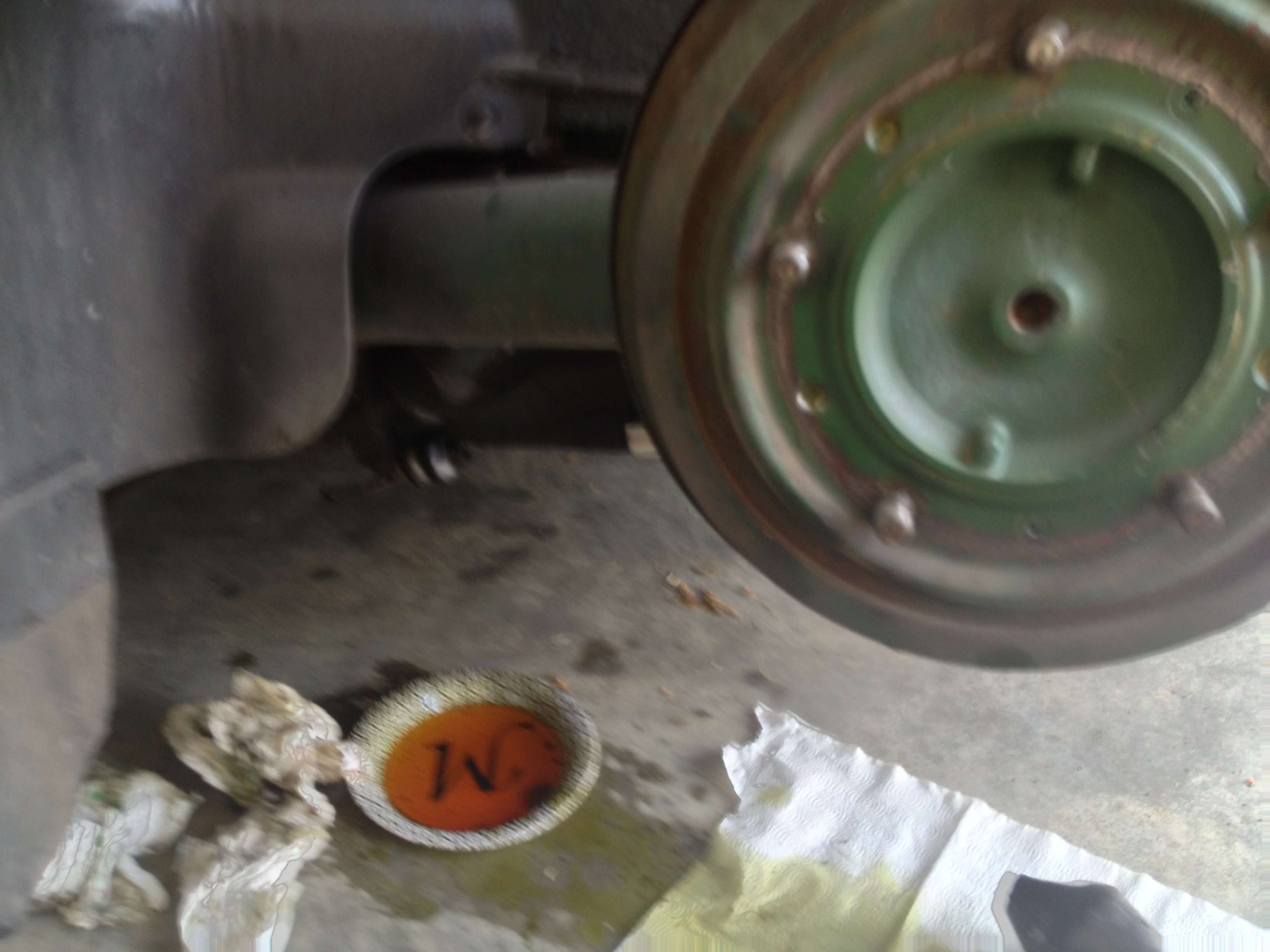 Replacing a rear return boot.