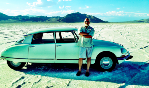 1971 Citroen DS on the Salt Flats