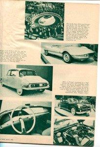 Citroen vintage article, 1959