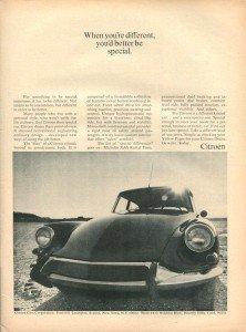Vintage Citroen DS advertising 7