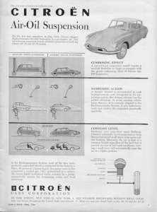 citroen DS vintage advertising