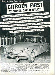 citroen DS vintage advertising 3
