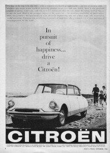 citroen DS vintage advertising 4